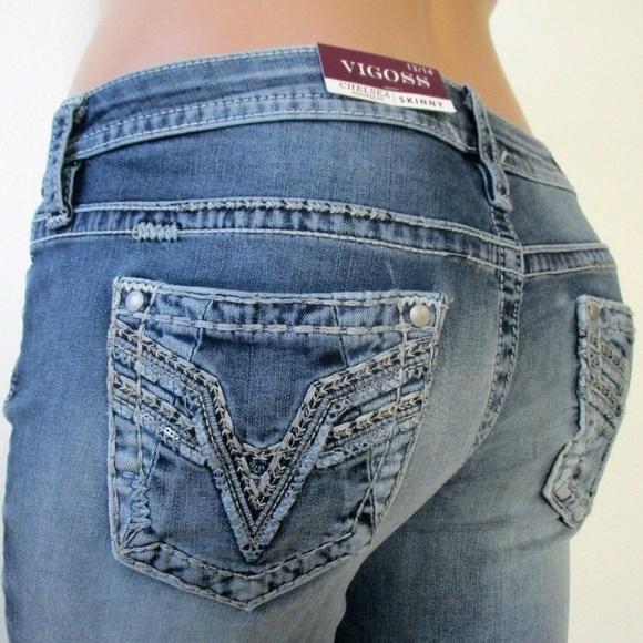 0e2089ca867a8 Plus Size VIGOSS Heritage Fit SKINNY Jeans NWT